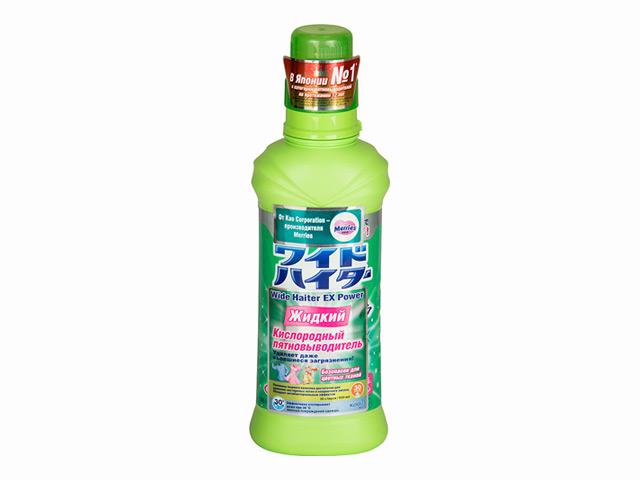 مزيل البقع السائلة على نطاق واسع هايتر ، الأكسجين ، 600 مل