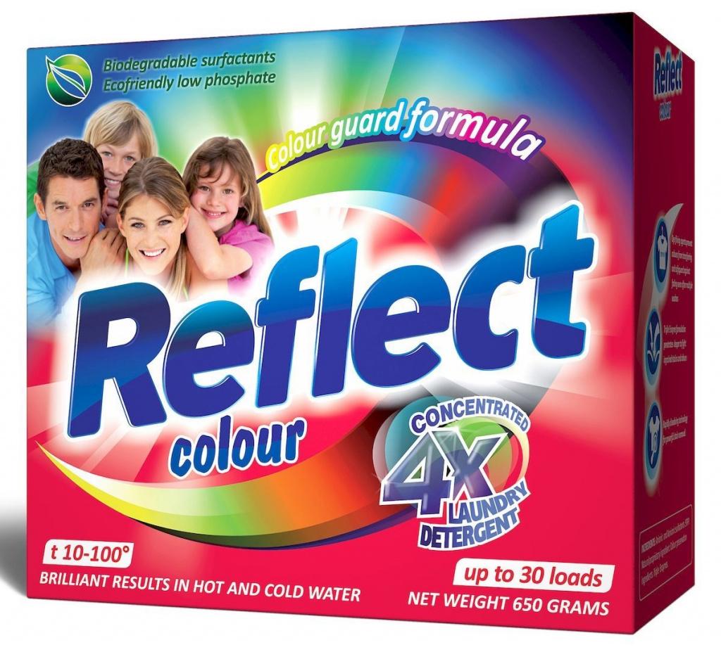 Prašak za pranje Odražava boju