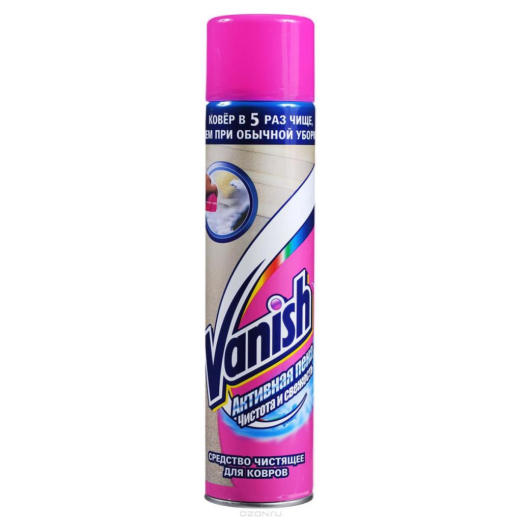 Aktivna pjena za čišćenje tepiha Vanish, 600 ml
