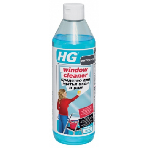 Sredstvo HG za pranje prozora i okvira, 500 ml