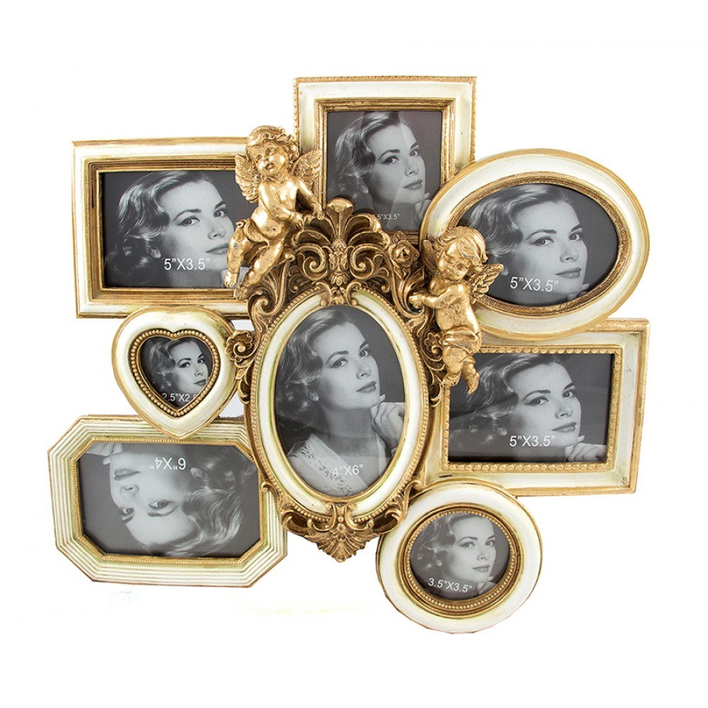 Okvirni foto-kolaž Cupids (8 fotografija)