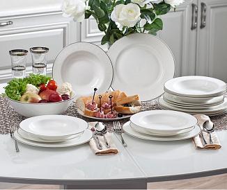 6 bästa tillverkare av middagsuppsättningar
